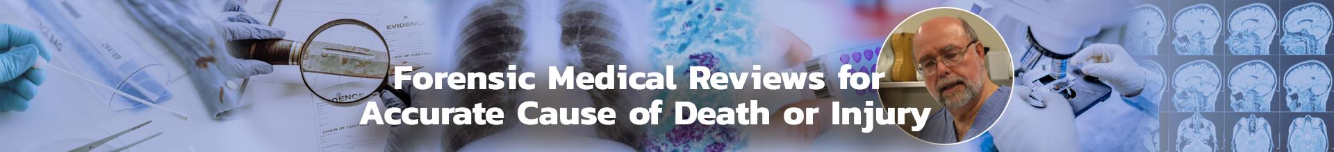 Forensic medico-legal reviews